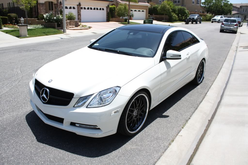 MERCEDES E350 COUPE AMG